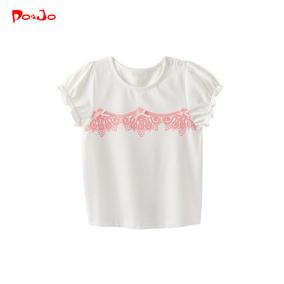 皮偌乔夏装儿童装女童宝宝t恤短袖上衣体恤1夏季半袖2时尚3岁小童