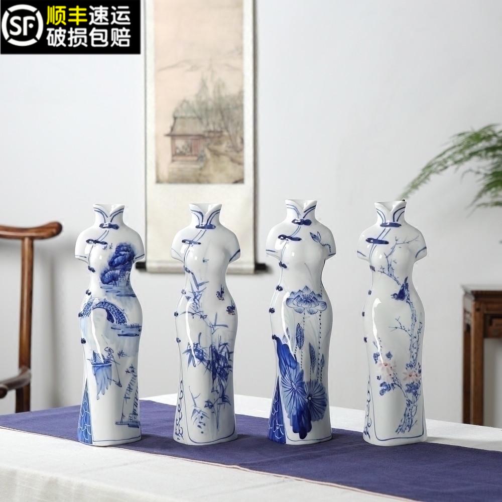 手绘陶瓷人物