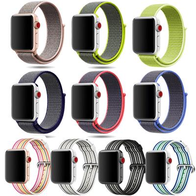 适用苹果手表表带iwatch3表带apple watch1/2回环表带尼龙38/42mm有实体店吗