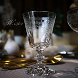 W1962 Germany imported Luca series crystal carved classical red wine glass white wine glass imported crystal cup