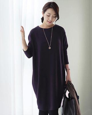 香港欧迪优雅女装2018秋装款新品超大码T型修身简约连衣裙NEW501