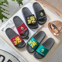 Slippers female summer bathroom slip non-slip soft bottom home home summer shower couple cute male ladies sandals and slippers