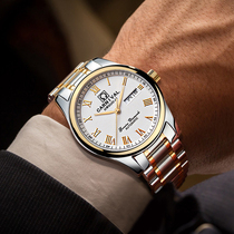 手表男士机械表商务休闲精钢全自动男表时尚潮流钢带防水手表男