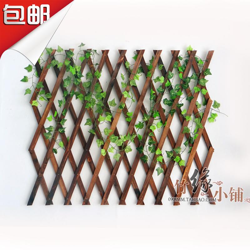 户外 花架 木栅栏