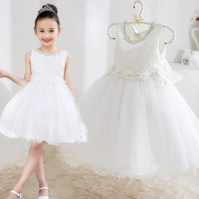 儿童晚礼服裙公主裙