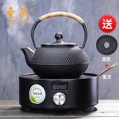 南部日本铸铁壶