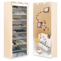 Shoe rack simple multi-storey home assembly economy type space dormitory shoes shelf shoe simple modern hallway cabinet
