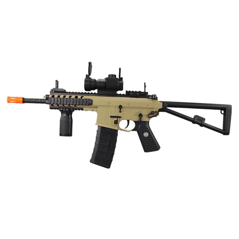 斯泰迪PDW连发电动下供弹水弹枪水晶水蛋抢成人儿童玩具枪STD-301