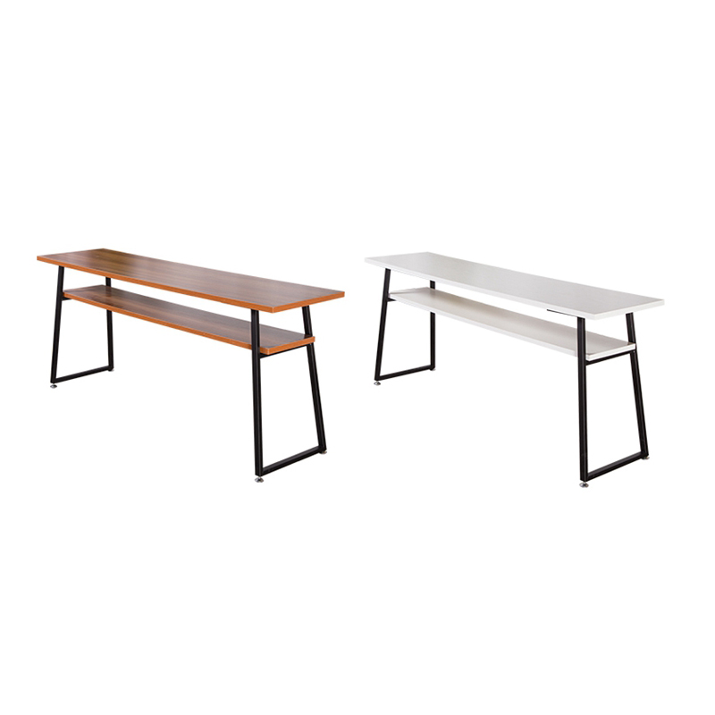 实木美甲桌椅凳子指甲桌美甲台单人双人三人修甲台指甲油壁挂展柜