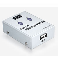 Win for usb printer sharing device 2 port splitter automatic switcher 2 in 1 out computer shared printer