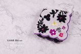 Exported to Japan Anna Sui ladies handkerchief square towel cotton soft beauty explosion variety