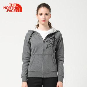 【经典款】TheNorthFace北面春季新品时尚运动女卫衣外套|3CGP