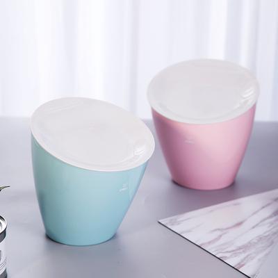 得力18830桌面垃圾桶便携式小型垃圾桶pp材料办公家用桌面垃圾桶