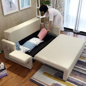乳胶沙发床 可折叠 客厅 双人两用1.8储物多功能1.5小户型2米拆洗