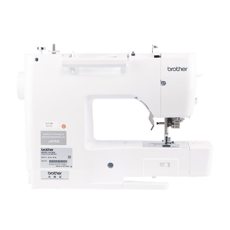 新品上市 HELLO KITTY限量版NV180K电脑绣花机缝纫一体机