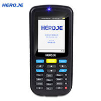 Hejie T5 Plus inventory machine data collector wireless barcode scanning gun warehouse inventory serial number out of the library scanning code shop super shop goods label pda handheld terminal