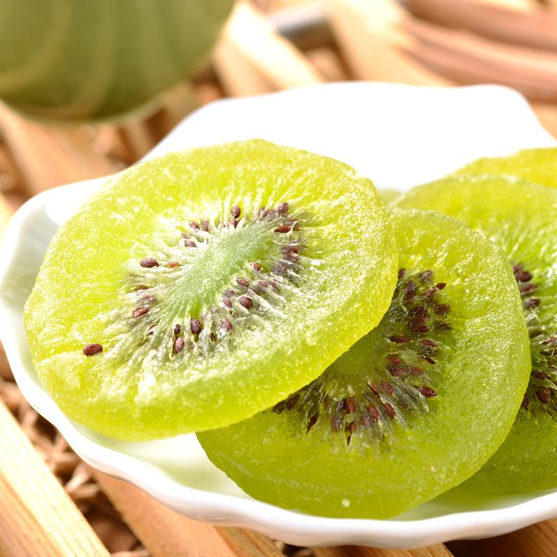 水果之王 猕猴桃干奇异果干 休闲零食小吃酸甜水果干蜜饯果脯200g,网红进口零食猕猴桃干