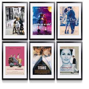 经典爱情电影海报客厅沙发装饰画书房卧室挂画酒吧餐厅壁画包邮