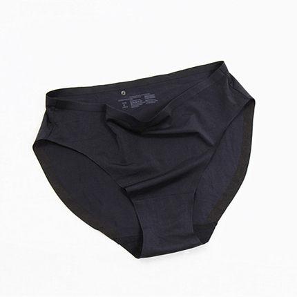 M1简约舒适亲肤无痕内裤 女夏季薄款一片式低腰透气性感三角裤女