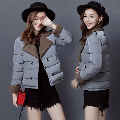 外套女冬短款加厚反季清仓2018新款韩版冬季羽绒棉服女装棉袄修身