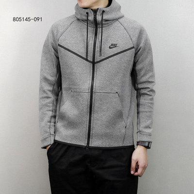Nike耐克男装外套秋冬季款针织运动服休闲耐磨保暖夹克805145-091