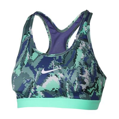 NIKE耐克PRO女子跑步健身中度支撑运动内衣胸衣836421-508