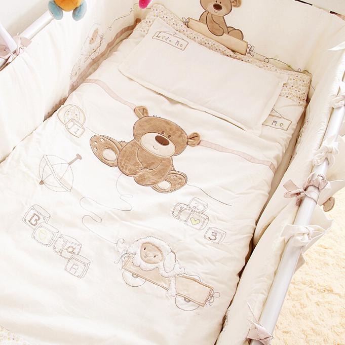 九件套全棉宝宝床品