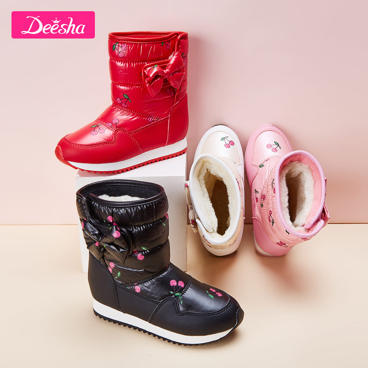 童装女童雪地靴