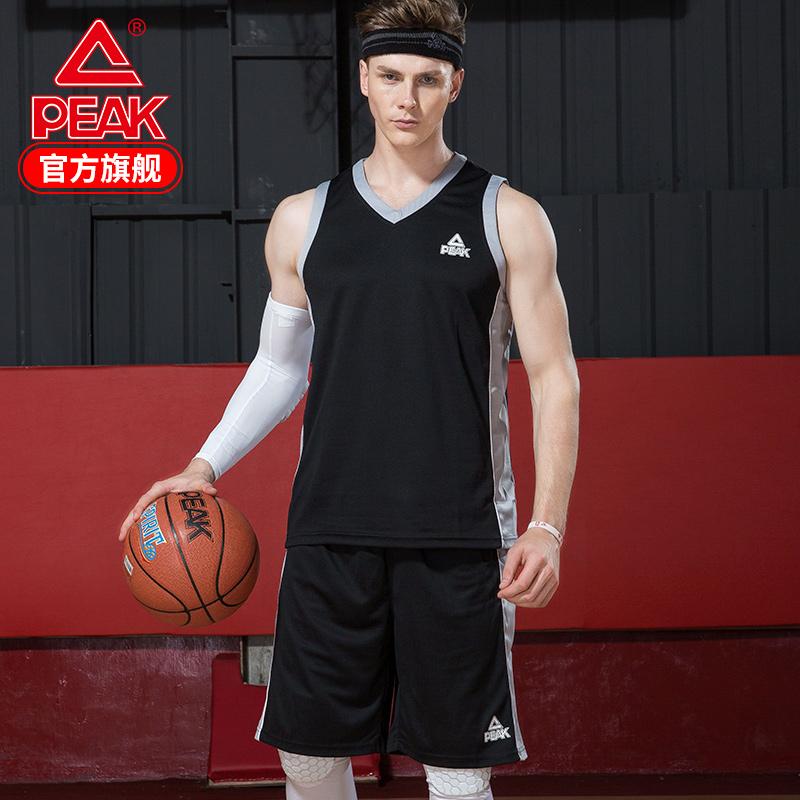 匹克男篮球服套装春季新款运动服吸湿排汗DIY定制印字印号团购