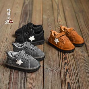 女童家居棉靴