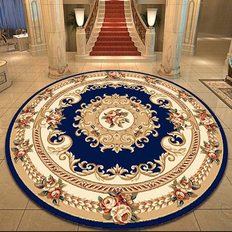 圆形大厅地毯