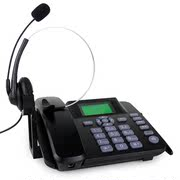 Business Call Center Operator Customer Service Phone Headset Headset Headset Phone Crystal Headphone