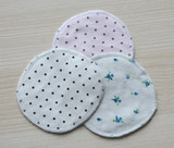 Maternal anti-overflow breast pad washable cotton lactation breathable cotton leak-proof washable breast pad milk pad