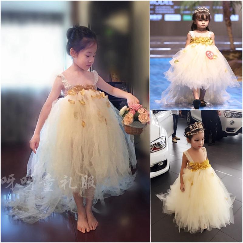 欧美儿童礼服裙