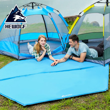 Hexagonal automatic inflatable mattress thickening and splicing inflatable bed camping equipment outdoor tent mattress moisture-proof mattress