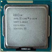 散片 酷睿i5 台式机 英特尔 22纳米CPU 3570 四核心1155 Intel