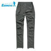 EAMKEVC伊凯文户外速干裤隐形收缩裤脚 女款夏季运动不粘身快干裤