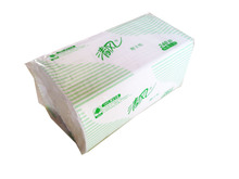 Clean air two fold wipe toilet paper/dry toilet paper/wipe toilet paper folding 20 bags/boxes B900A Jiangsu, Zhejiang, Shanghai and Anhui parcel post