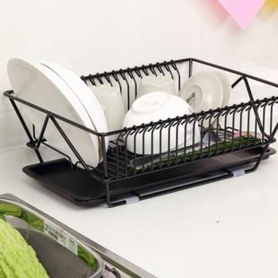 厨房置物架滴水碗碟筷收纳架宜家餐具滤干架纳川不锈钢水果沥水架