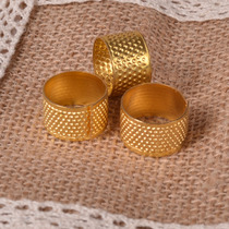 Collage Sewing handmade DIY accessories accessories sewing DIY material tools and finished pure copper thimble