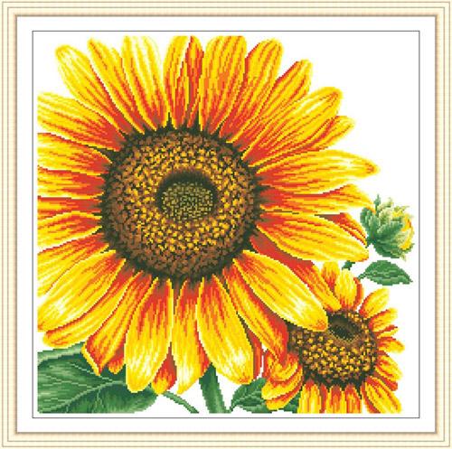 十字绣向日葵系列