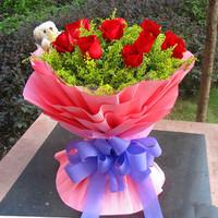镶钻玫瑰花