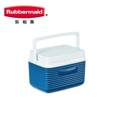 包邮美国乐柏美保温保冰箱4.7L 5QT车载冰箱车家两用背奶箱2A09