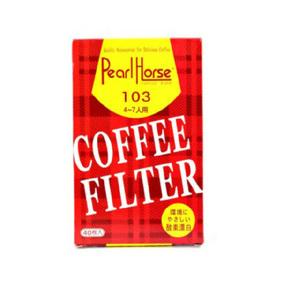 咖啡滤纸 滴漏式咖啡机专用 103手冲过滤纸 纯白 3-7人份 40张入