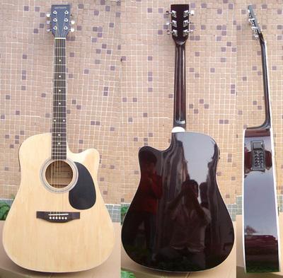 还是新琴当二手吉他卖,41寸品牌民谣吉他,电箱吉他哪个牌子好