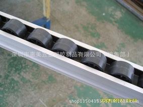 铝合金流利条 宽38高35 铝合金滑轨 滑道 4米一根 铝型材流利条