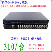 Monitor 16-channel video splitter Video/picture processor Robert Picture Processor MV96E