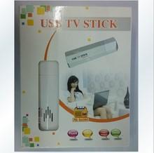 USB电视盒电视卡转电脑显示器VGA TV电视接收器 新品特价