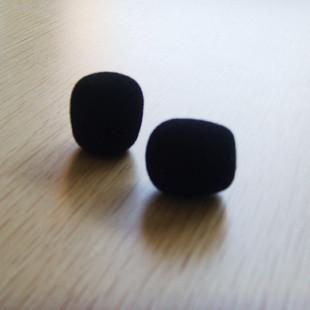 擴音器 話筒配件 廠家直銷 原配咪棉/海棉套 小蜜蜂海綿套打折促銷