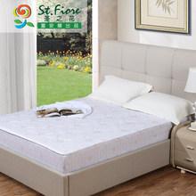 富安娜家纺 圣之花床垫床护垫床褥1.5m保护床垫床笠款思悦薄床垫